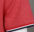 Q1905 Heren T-shirt Katwijk - Rood