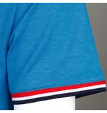 Q1905 Heren T-shirt Katwijk - Kobaltblauw