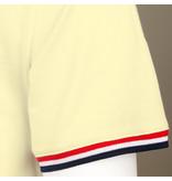 Q1905 Heren T-shirt Katwijk - Pastel Geel