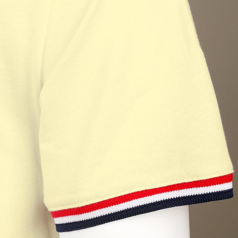 Q1905 Men's T-shirt Katwijk - Pastel Yellow