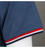 Q1905 Heren T-shirt Katwijk - Poederblauw