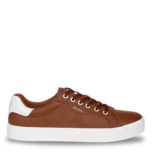 Heren Sneaker Duinoord - Cognac