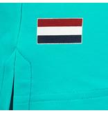 Q1905 Heren Polo Matchplay - Aqua Blauw
