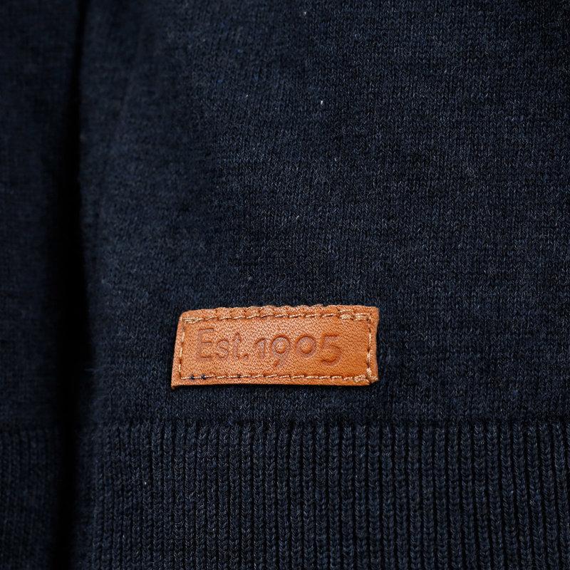 Q1905 Men's Pullover Castricum - Dark Blue
