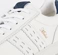 Q1905 Men's Sneaker Medal - White/Denim Blue