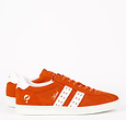 Q1905 Men's Sneaker Medal - Orange/White