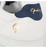 Q1905 Dames Sneaker Medal - Wit/Denim Blauw