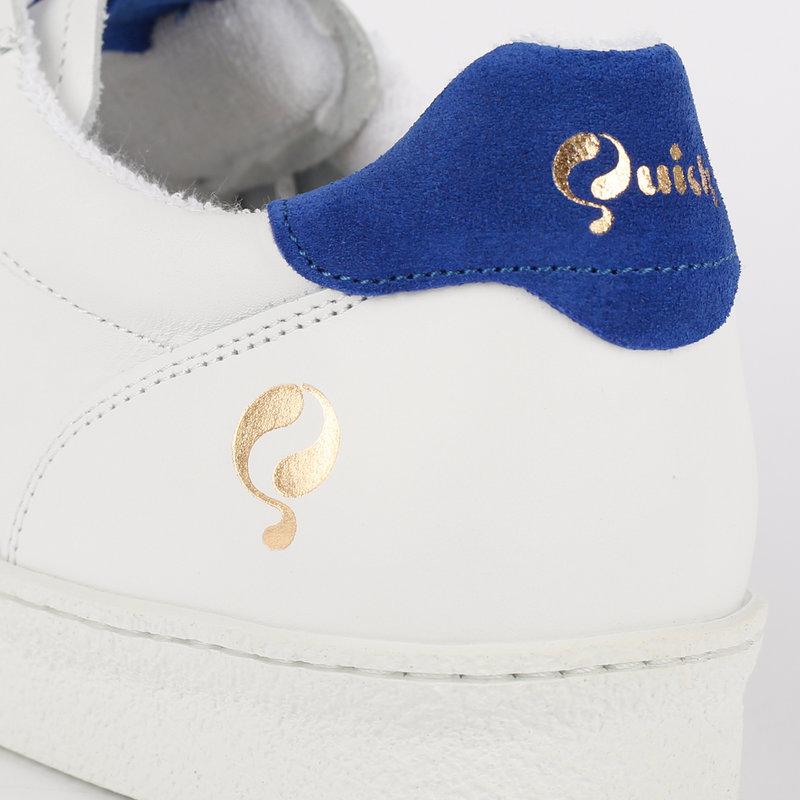 Q1905 Men's Sneaker Medal - White/Kings Blue