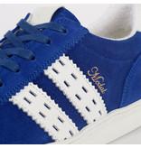 Q1905 Heren Sneaker Medal - Koningsblauw/Wit
