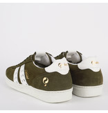 Q1905 Men's Sneaker Medal - Army Green/White