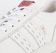 Q1905 Women's Sneaker Medal - White/Old Pink