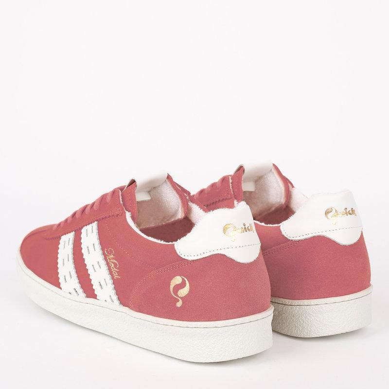 Q1905 Women's Sneaker Medal - Old Pink/White