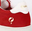 Q1905 Men's Sneaker Medal - Red/White