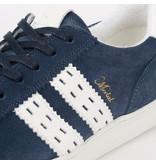 Q1905 Men's Sneaker Medal - Denim Blue/White