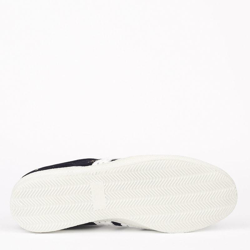 Q1905 Men's Sneaker Medal - Dark Blue/White