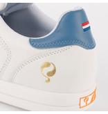 Q1905 Heren Golfschoen Fairway - Wit/Aqua Blauw
