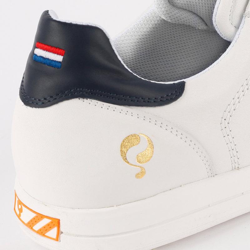 Q1905 Heren Golfschoen Fairway - Wit/Donkerblauw