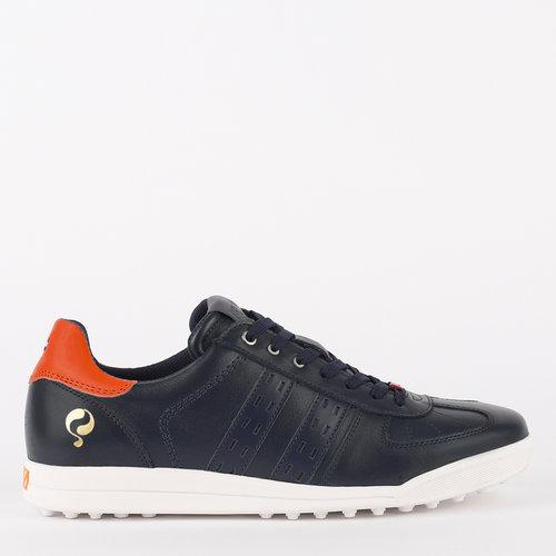 Men's Golf Shoe Fairway - Dark Blue/Orange