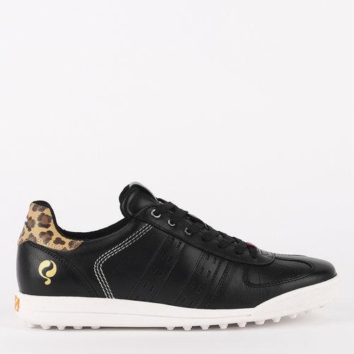 Women's Golf Shoe Fairway - Black/Leopard