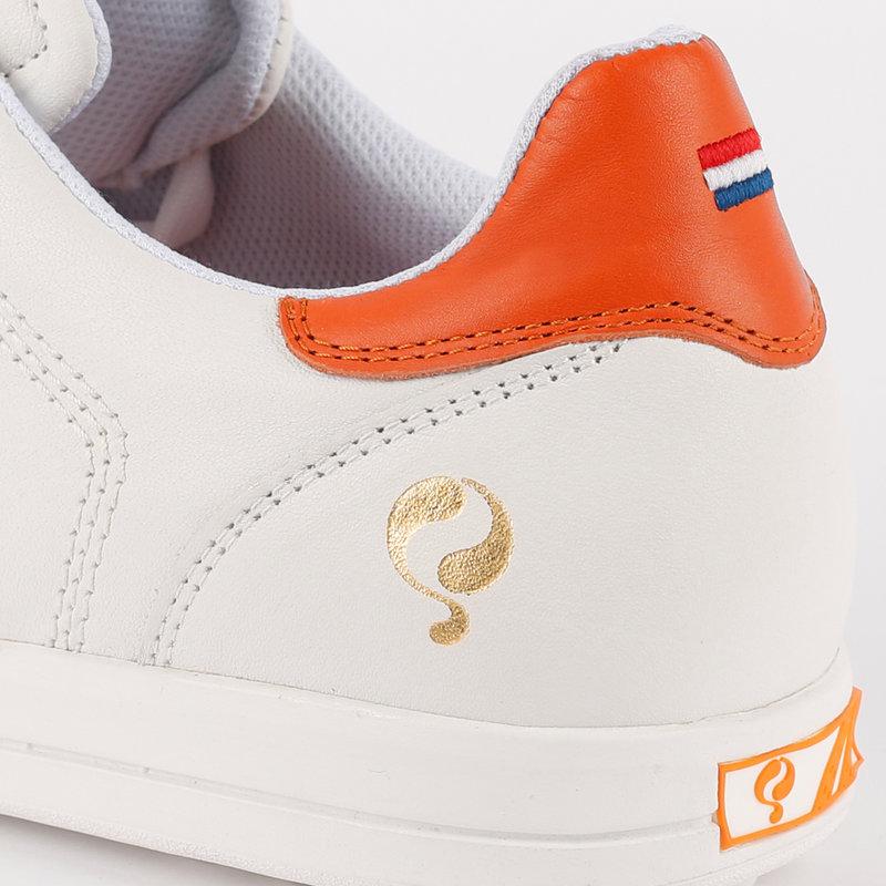Q1905 Heren Golfschoen Fairway - Wit/Oranje