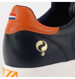 Q1905 Men's Golf Shoe Fairway - Dark Blue/Orange