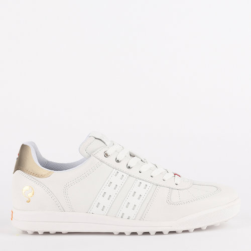 Women's Golf Shoe Fairway - White/Champagne