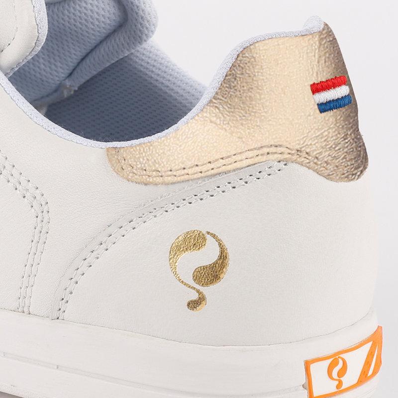 Q1905 Women's Golf Shoe Fairway - White/Champagne