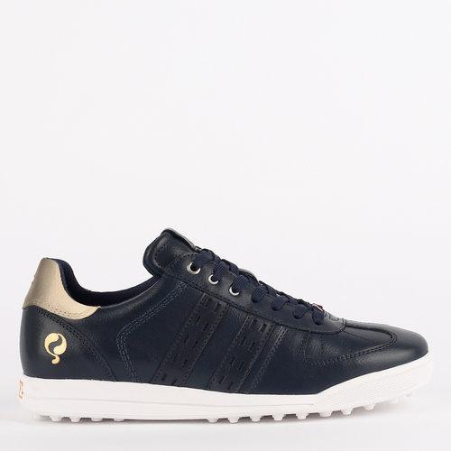 Women's Golf Shoe Fairway - Dark Blue/Champagne