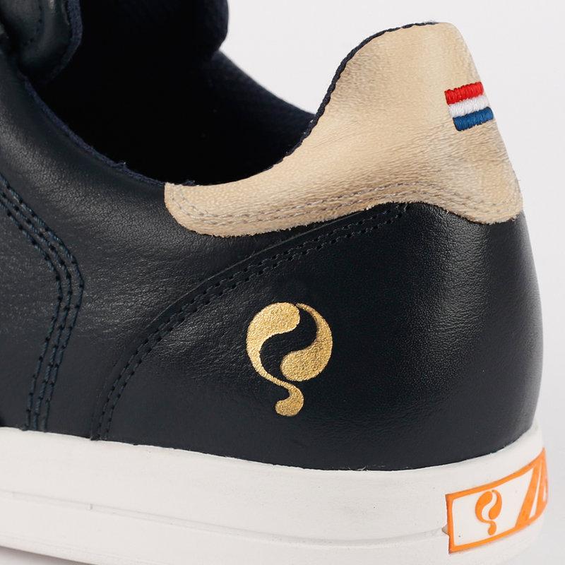 Q1905 Women's Golf Shoe Fairway - Dark Blue/Champagne