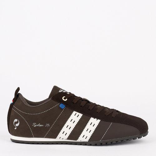 Heren Sneaker Typhoon SP - Donkerbruin/Wit