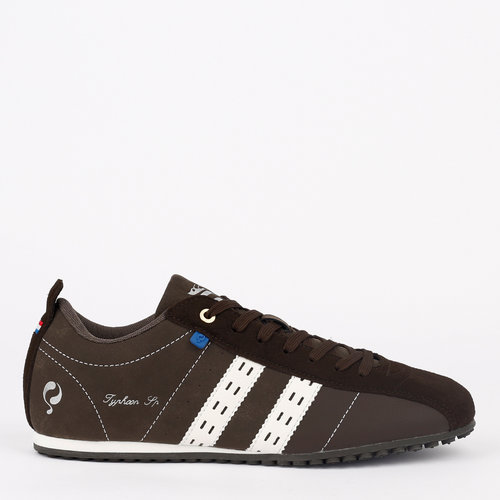 Men's Sneaker Typhoon SP - Dark Brown/White