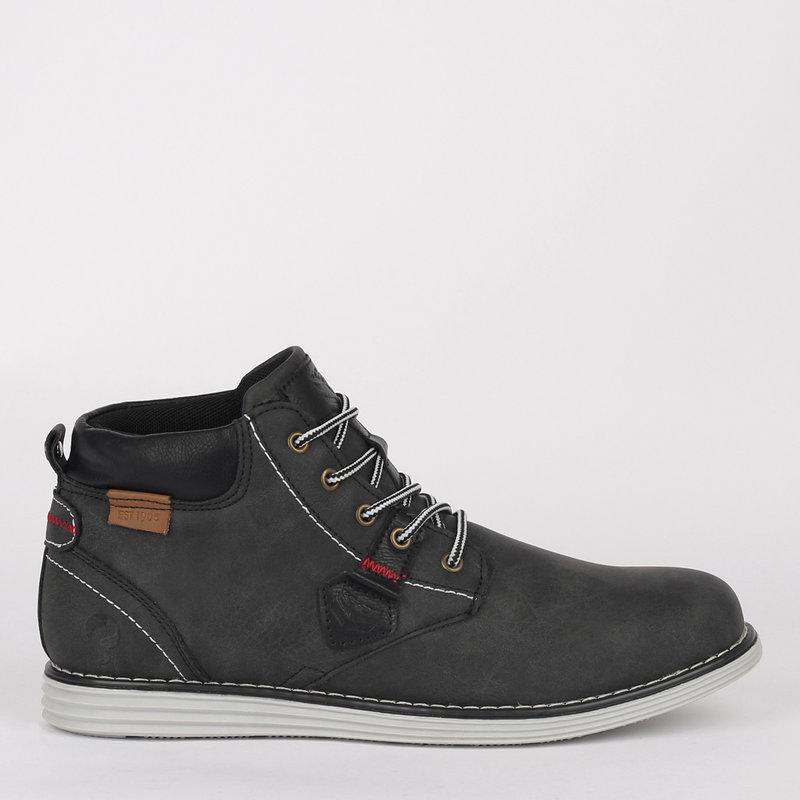 Q1905 Men's Shoe Dubbeldam - Black