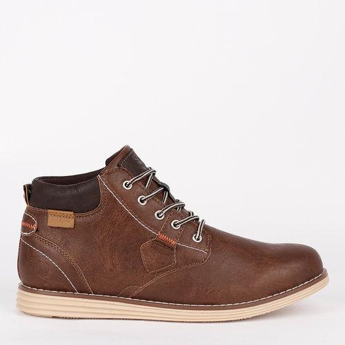Men's Shoe Dubbeldam - Cognac