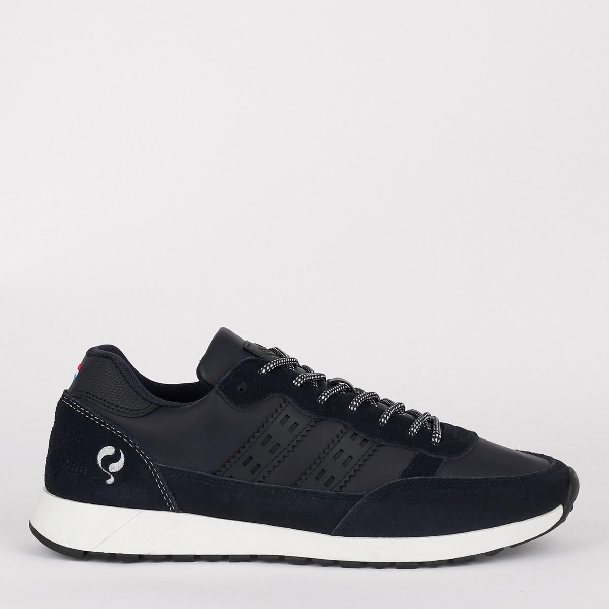 2 voor 149 - Heren Sneaker Voorschoten - Donkerblauw
