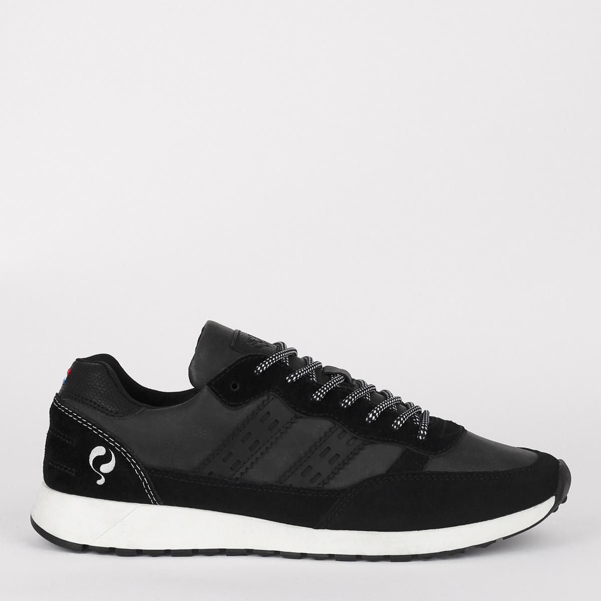 2 voor 149 - Heren Sneaker Voorschoten - Zwart