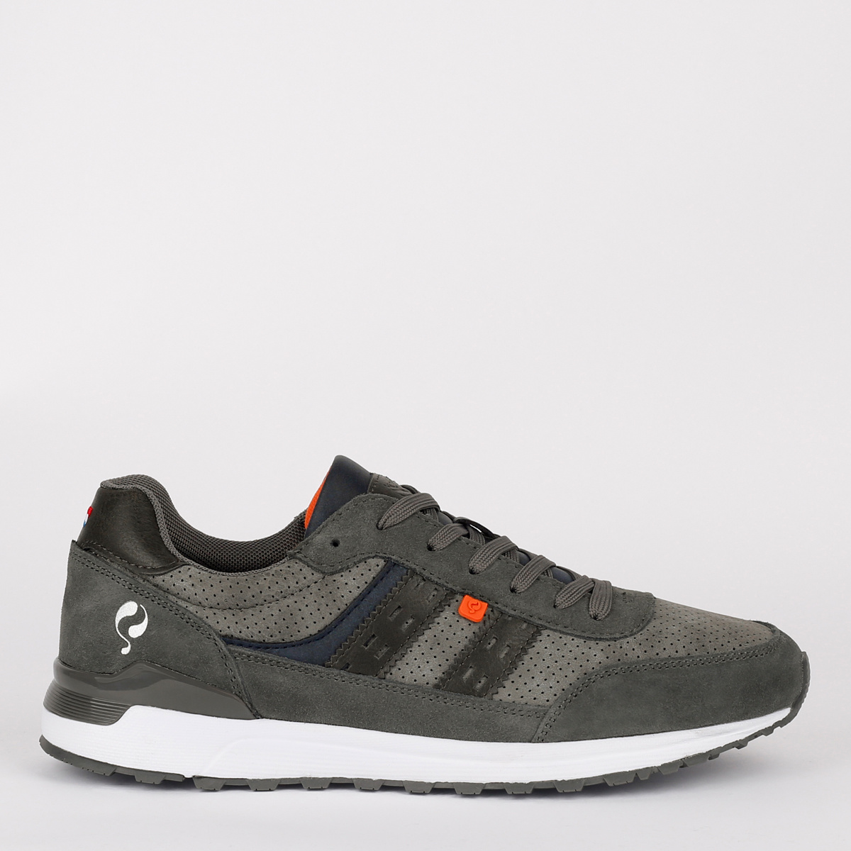 2 voor 149 - Heren Sneaker Veenendaal - Grijs