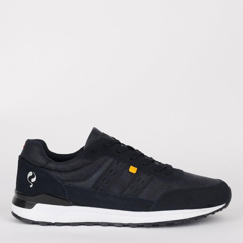 Q1905 Heren Sneaker Veenendaal - Donkerblauw