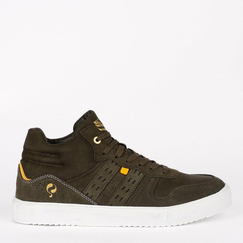 Q1905 Heren Sneaker Nieuwegein - Legergroen