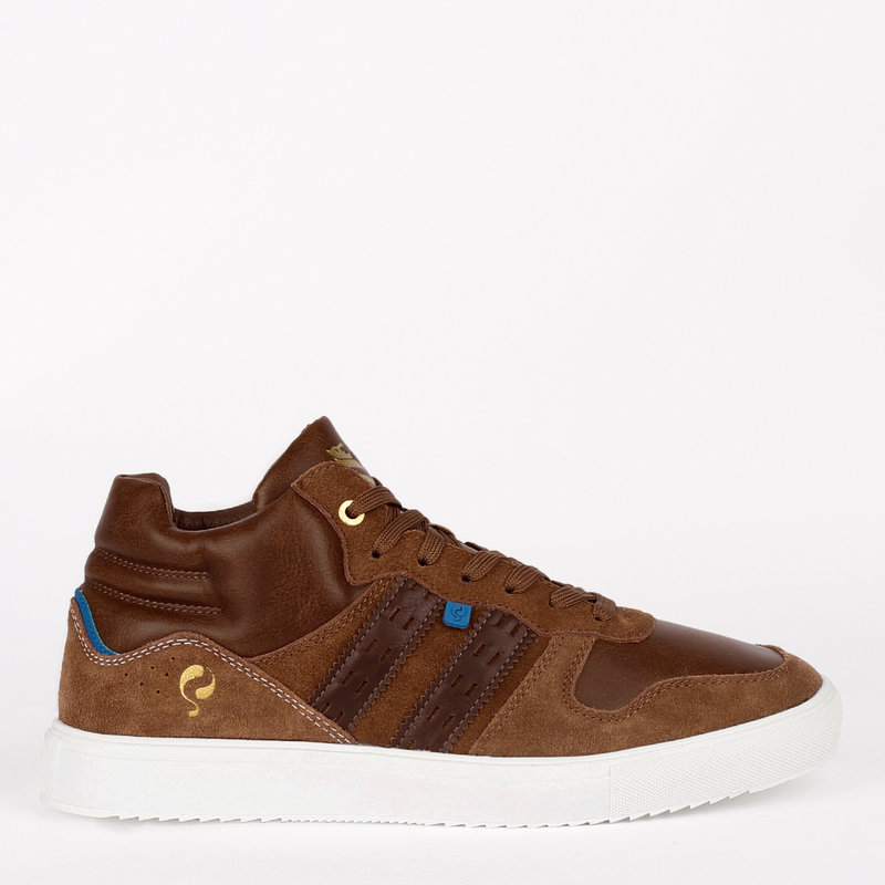 Q1905 Heren Sneaker Nieuwegein - Cognac