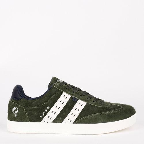 Men's Sneaker Platinum - Dark Green/White