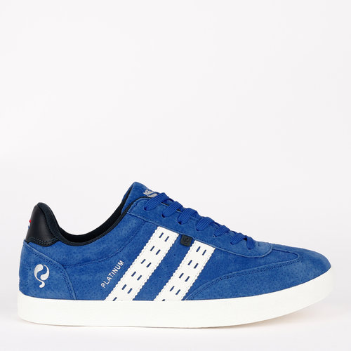 Men's Sneaker Platinum - Kings Blue/Wit