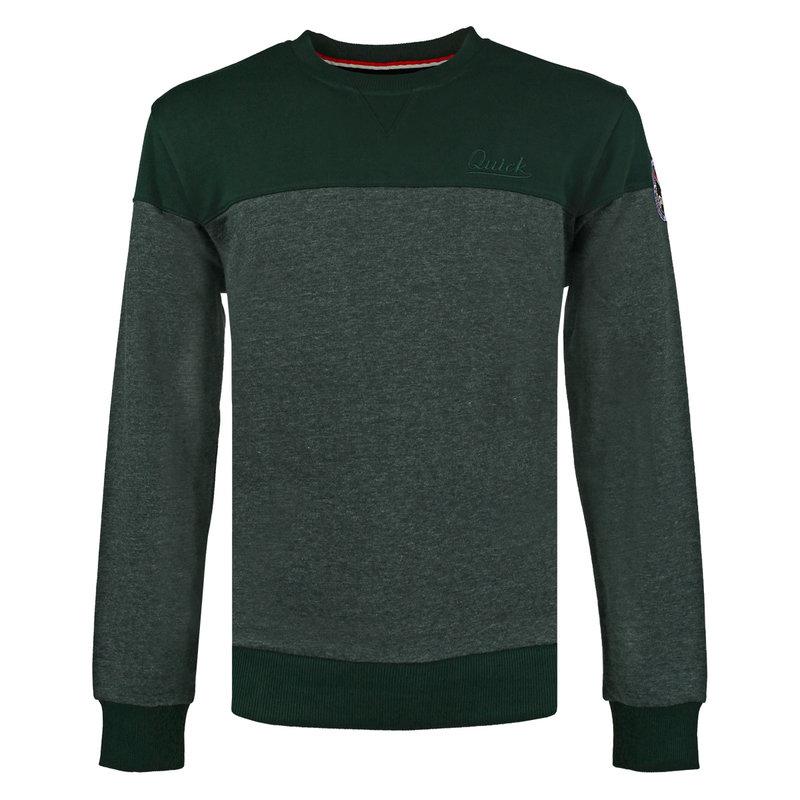 Q1905 Men's Pullover Boxmeer - Dark Green