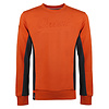 Q1905 Men's Pullover Voorhout - Rust Orange/Dark Blue
