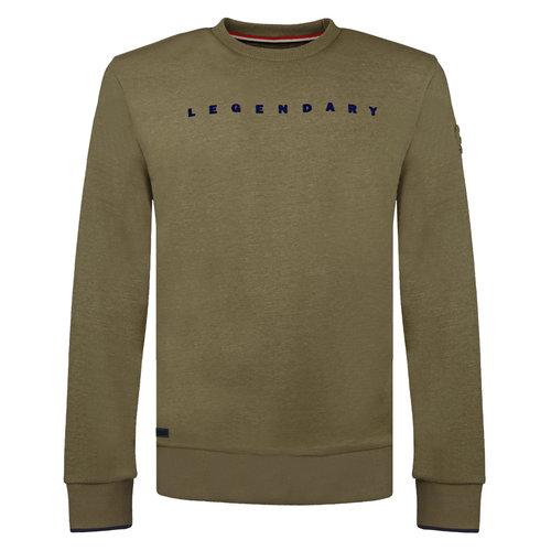 Men's Pullover Zaandijk - Light Army Green