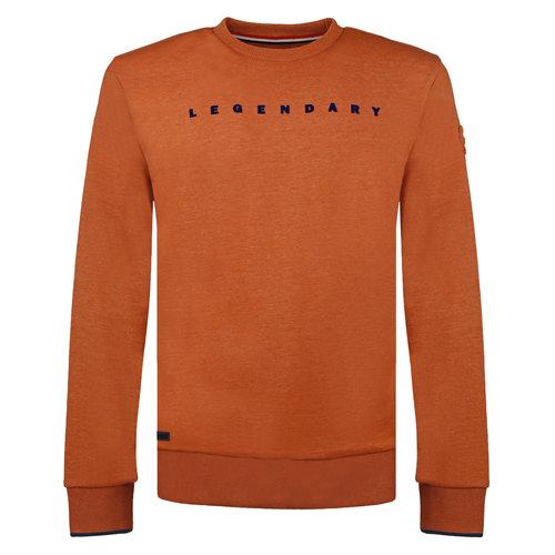 Men's Pullover Zaandijk - Copper Orange