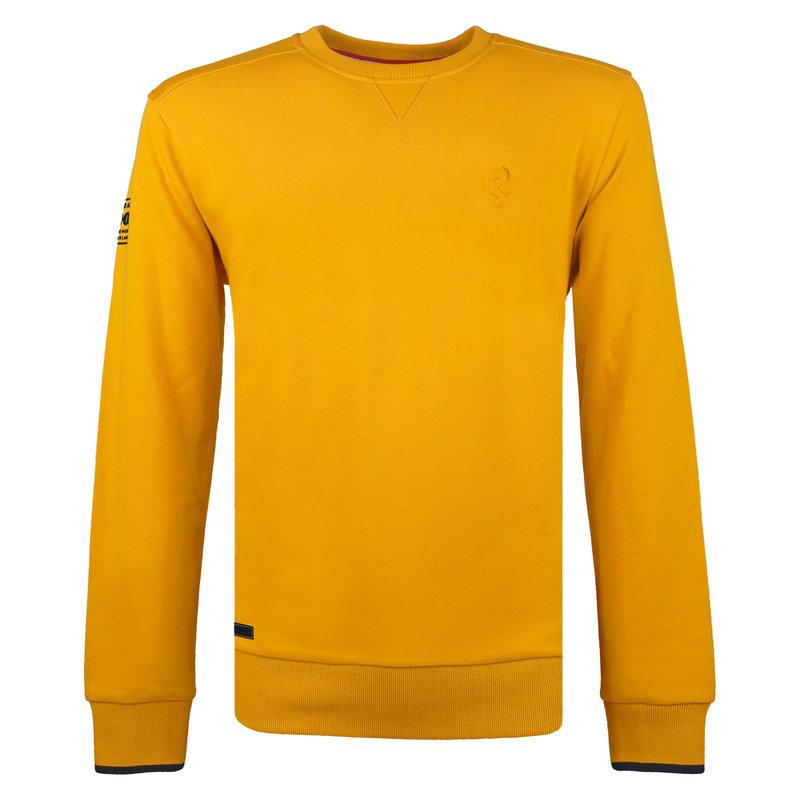 Q1905 Men's Pullover Zoeterwoude - Dark Ochre Yellow