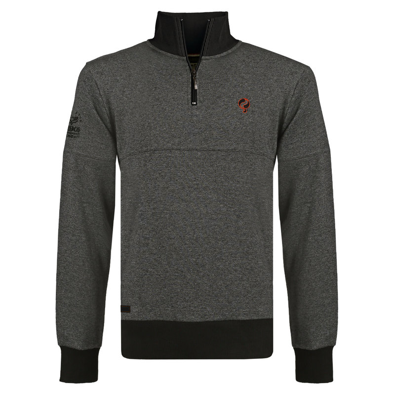 Q1905 Men's Pullover Nijkerk - Dark Grey