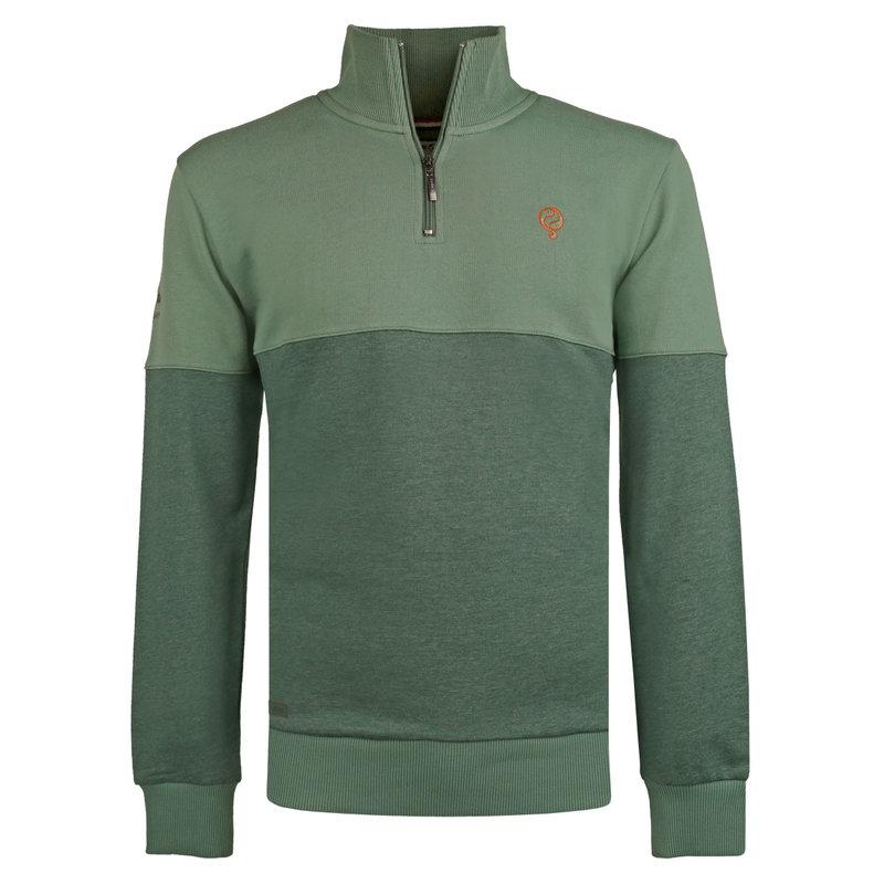 Q1905 Men's Pullover Nijkerk - Oase Green