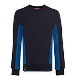 Q1905 Heren Trui Voorhout - Donkerblauw/Koningsblauw