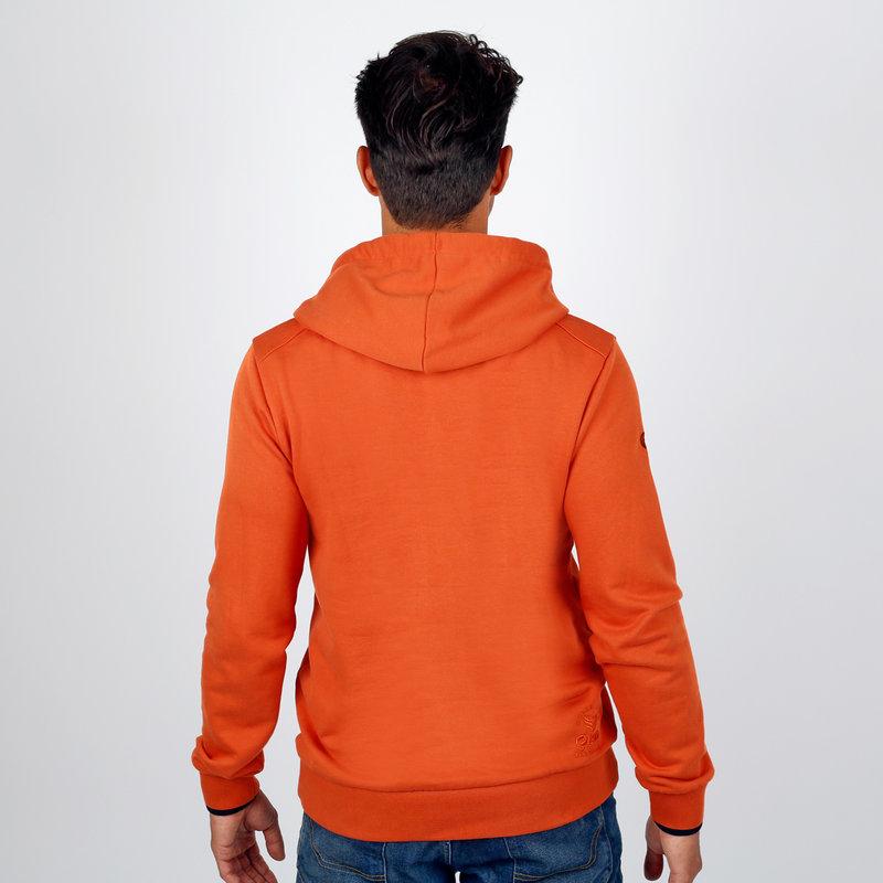 Q1905 Men's Pullover Winterswijk - Rust Orange